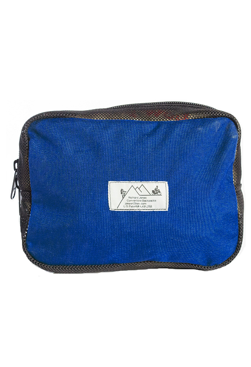 Pannier Backpack - Classic - Royal Blue - Piggyback